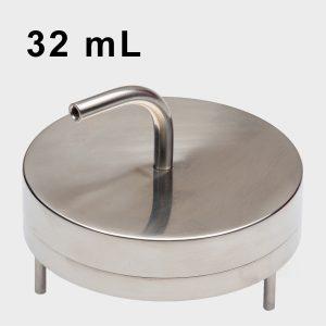 SMA Compressed Air/Gas Atrium Assembly - 32 mL Fill - SMA-316-CA-32