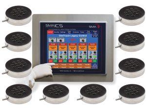 SMA OneTouch ICS for Isolators - 10 Sampling Locations - SMA-ICS-10I-A