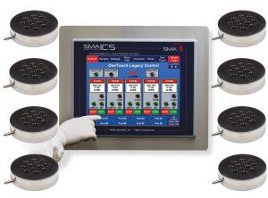 SMA OneTouch ICS - 8 Sampling Locations - SMA-ICS-8-A
